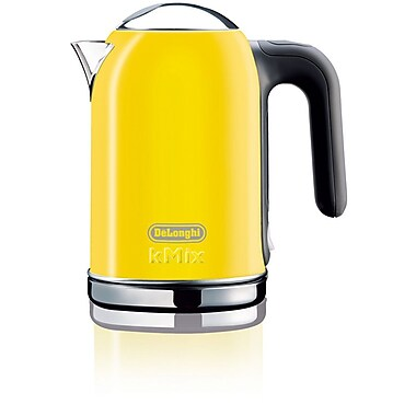 Delonghi DSJ04 1.6 Liter Electric Tea Kettle With Water Level Indicator, Yellow