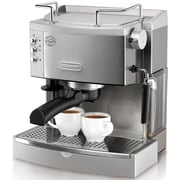 Delonghi EC702 Pump Espresso Maker, Black/Silver