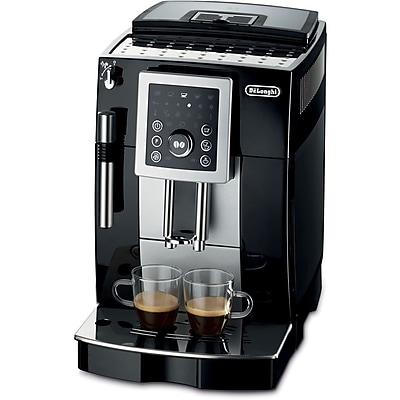 Delonghi ECAM23210 14 Cup Super Automatic Latte Coffee Espresso/Cappuccino Maker, Black 205673