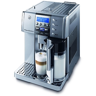 Delonghi ESAM6620 14 Cup Grand Dama 3-iN-1 Touch Espresso Machine, Silver