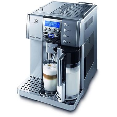 Delonghi ESAM6620 14 Cup Grand Dama 3-iN-1 Touch Espresso Machine, Silver