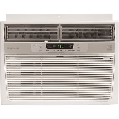Frigidaire® FRA106CV1 10000 BTU Compact Window Mounted Air Conditioner W/Full Function T'Stat, White