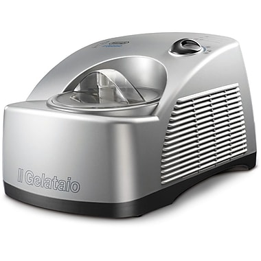 Delonghi 1.5 Pint Eco-Compressor Style Gelato/Ice Cream Maker With Self Refrigerating Compressor