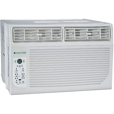 Hanover® HANAW08A 8000 BTU E-Star 2 Window Mounted Air Conditioner With Control Remote, White