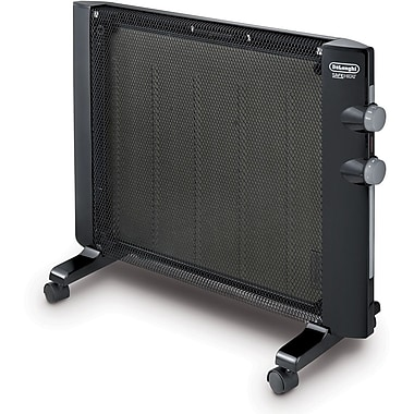 Delonghi HMP1500 750 - 1500 W Mica Panel Heater, Black