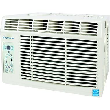 Keystone® KSTAW05A 5000 BTU E-Star 2 Window Mounted Air Conditioner With Control Remote, White