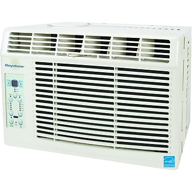 Keystone® KSTAW06A 6000 BTU E-Star 2 Window Mounted Air Conditioner With Control Remote, White