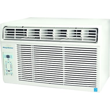 Keystone® KSTAW08A 8000 BTU E-Star 2 Window Mounted Air Conditioner With Control Remote, White