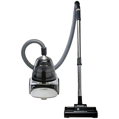 Panasonic® Bagless Straight Suction Canister Vacuum Cleaner, Silver