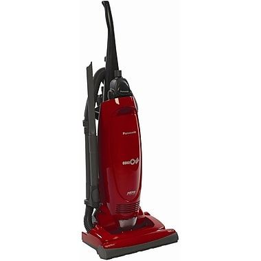 Panasonic® Upright Vacuum Cleaner With HEPA Filter, Pepper Red