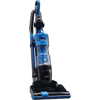 Panasonic® Bagless Jet Force Upright Vacuum Cleaner With 9X Cyclonic Technology, Blue/Black
