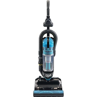 Panasonic® Bagless Upright Vacuum Cleaner With Swivel Steering, Black/Blue
