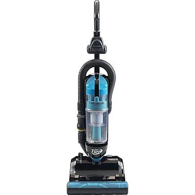 Panasonic® Bagless Upright Vacuum Cleaner With Swivel Steering, Black/Blue
