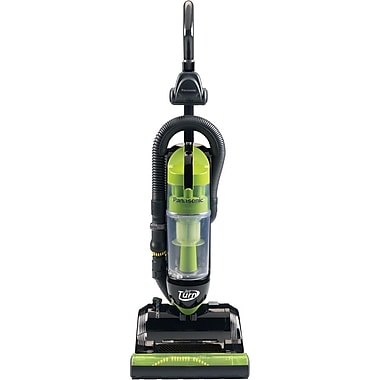 Panasonic® Bagless Upright Vacuum Cleaner With Swivel Steering, Black/Green