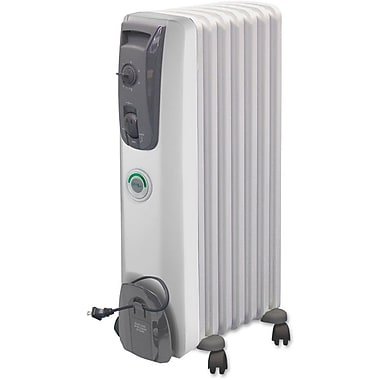 Delonghi MG7307CM 1500 W Advanced Fin Design With Comfort Temp Oil Filled Radiator, White