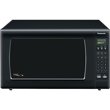 Panasonic® 2.2 cu. ft. Full-Size Countertop Microwave Oven With Inverter Technology, Black