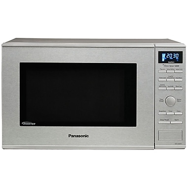 Panasonic® 1.2 cu. ft. Genius Prestige Countertop Microwave Oven With Inverter, Stainless Steel
