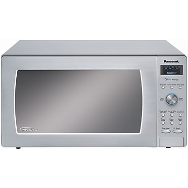 Panasonic® 1.6 cu. ft. Genius Prestige Countertop/Built-in Microwave Oven, Stainless Steel