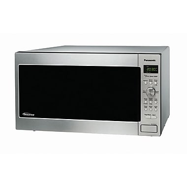 Panasonic® 2.2 cu. ft. Genius Countertop/Built-in Microwave Oven With Inverter, Stainless Steel