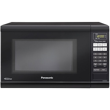 Panasonic® 1.2 cu. ft. Family-Size Microwave Oven With Inverter Technology, Black
