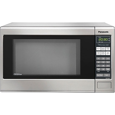 Panasonic® 1.2 cu. ft. Genius Countertop/Built-in Microwave Oven With Inverter, Stainless Steel