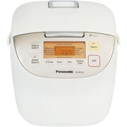 Panasonic® 20 Cup Fuzzy Logic Rice Cooker, White