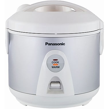 Panasonic® 5 Cup Automatic Rice Cooker With Steamer, Silver