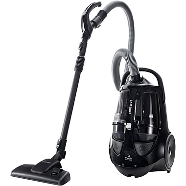 Samsung 2.5 L Super TwinChamber Bagless Canister Vacuum Cleaner, Black