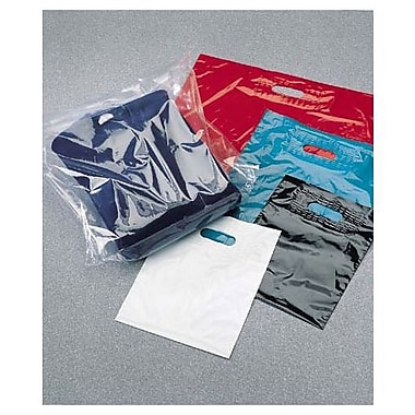 15in. x 18in. + 4in. BG Low Density Patch Handle Bags, White