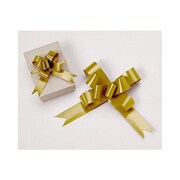 """4"""" Butterfly Bows, Gold"""