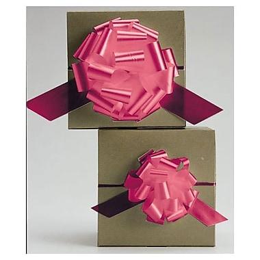 Nœud en satin parfaitement dénouables de 4 po, rouge, 50/paquet