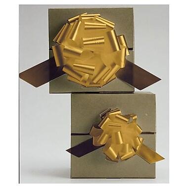 Nœuds en satin parfaitement dénouables de 4 po, dorés, 50/paquet