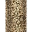 7 3/8in. x 100' Leopard Jeweler's Roll Gift Wrap, Black/Tan
