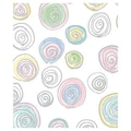 24in. x 100' Round and Round Gift Wrap