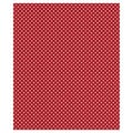 24in. x 417' Swiss Gift Wrap, Red