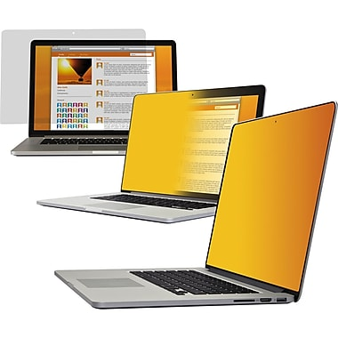 3M™ GPFMR13 Gold Privacy Filter For Notebook/Apple MacBook Pro® 13in. With Retina Display
