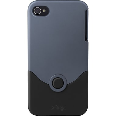 Zagg® ifrogz Luxe Original Case For Apple iPod Touch 4th Gen, Iron/Black