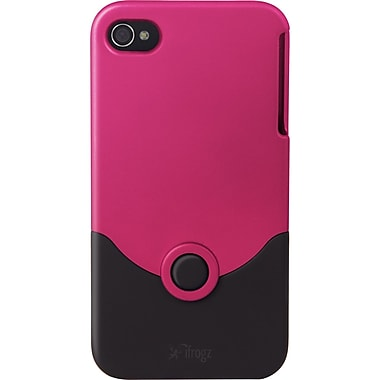 Zagg® ifrogz Luxe Original Case For Apple iPod Touch 4th Gen, Pink/Black