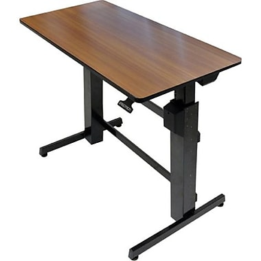 Ergotron® WorkFit-D Sit-Stand Desk, Black