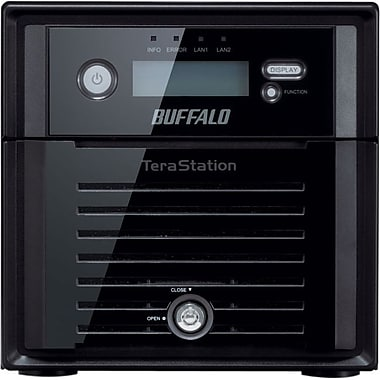 Buffalo™ TS5200 6TB Serial ATA Network Attached Storage Server (Black)