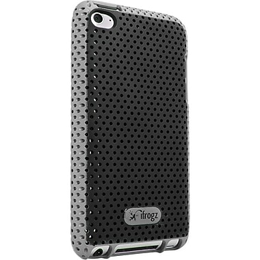 Zagg® ifrogz Breeze Case For Apple iPod Touch 4th Gen, Black/Gray