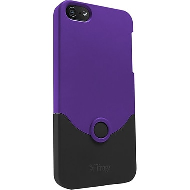 Zagg® ifrogz Luxe Original Case For Apple iPhone 5, Purple