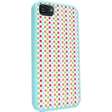 Zagg® ifrogz Mix Case For Apple iPhone 5, Polka Dot