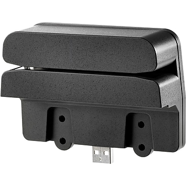 HP® QZ673AT Retail Integrated Dual-Head Magnetic Stripe Reader