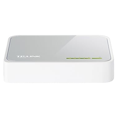 TP-LINK® TL-SF1005D 10/100 Mbps Desktop Switch, 5 Port