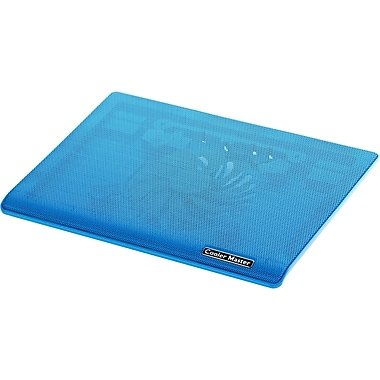 Cooler Master R9-NBC-I1HB-GP Ultra-Slim Laptop Cooling Pad with Dual 140mm Silent Fans, Blue