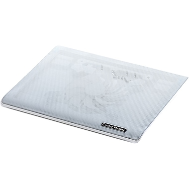 Cooler Master R9-NBC-I1HW-GP Ultra-Slim Laptop Cooling Pad with Dual 140mm Silent Fans, White