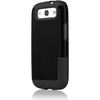 Incipio® Faxion™ Semi Rigid Soft Shell Case For Samsung Galaxy S III, Black