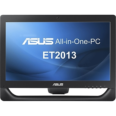 Asus® ET2013IUTI Intel® Dual-Core™ 2.90 GHz Touchscreen All-in-One Computer, Black