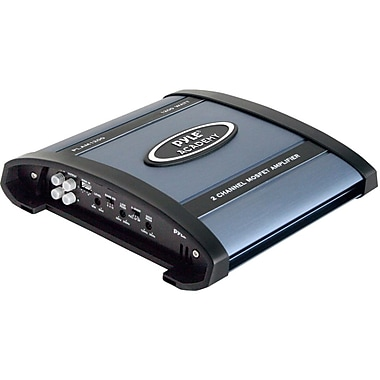 Pyle® Academy PLAM1200 2 Channel 1200 W Car Bridgeable Amplifier